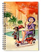 Madge Mary And Truffle Spiral Notebook