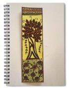 Madhubani Bookmark Spiral Notebook