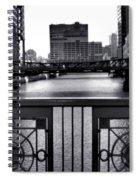 Madison Street Bridge - 3 Spiral Notebook