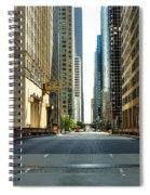 Madison Street Bridge - 4 Spiral Notebook