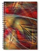 Madness Of Art Spiral Notebook