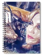 Madona Watercolor Spiral Notebook