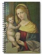 Madonna And Child Spiral Notebook