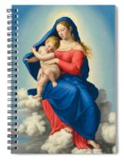 Madonna And Child In Glory Spiral Notebook