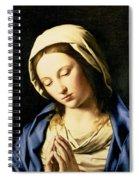 Madonna At Prayer Spiral Notebook