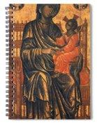 Madonna Icon, 13th Century Spiral Notebook