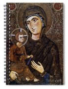 Madonna Icon Spiral Notebook