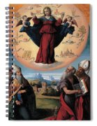 Madonna In Glory And Holy Hones Spiral Notebook