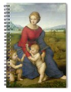 Madonna In The Meadow Spiral Notebook