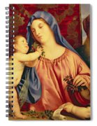 Madonna Of The Cherries With Joseph Spiral Notebook