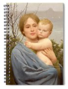 Madonna Of The Mount  Spiral Notebook