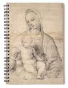 Madonna Of The Pomegranate Spiral Notebook