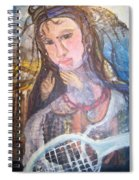 Madonna Of The Racket Spiral Notebook