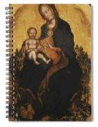 Madonna With Angels 1410 Spiral Notebook
