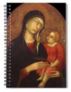 Madonna With Child Spiral Notebook