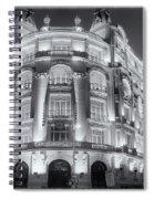 Madrid At Night Spiral Notebook