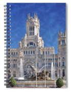 Madrid City Hall Spiral Notebook
