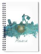 Madrid  Spiral Notebook