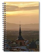 Madrid Mountain View Spiral Notebook