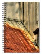 Madsen Grain Roof Spiral Notebook