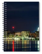 Madtown Skyline Spiral Notebook