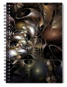 Maelstrom In The Myringa Spiral Notebook