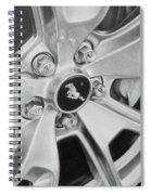 Mustang Mag Wheel Spiral Notebook
