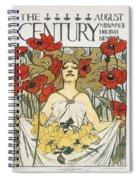 Magazine: Century, 1896 Spiral Notebook