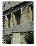 Magdalen Gargoyles Spiral Notebook