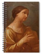 Magdalene With The Jar Of Ointment Spiral Notebook