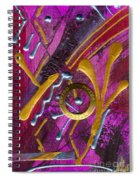 Magenta Joy Dreams Spiral Notebook