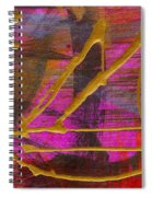 Magenta Joy Sails Spiral Notebook