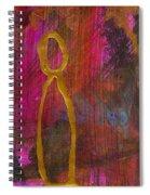 Magenta Joy Stands Alone Spiral Notebook