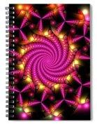 Magenta Mosaica Spiral Notebook