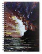 Magestic Spiral Notebook
