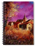 Magic Autumn  Spiral Notebook