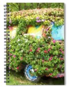 Magic Bus Spiral Notebook