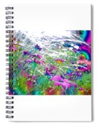 Magic Garden Spiral Notebook