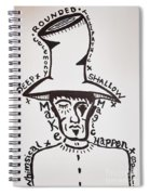 Magic Hat Spiral Notebook