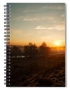 Magic Hour At Chasewater Spiral Notebook
