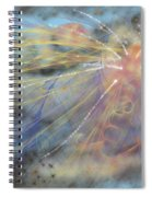 Magic In The Skies Spiral Notebook