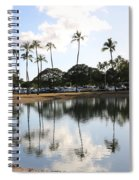 Magic Island Spiral Notebook