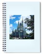 Magic Kingdom Cinderella's Castle #3 Spiral Notebook