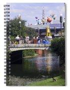 Magic Kingdom Scene Spiral Notebook