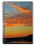 Magic Moments Over Cape Cod Bay Spiral Notebook
