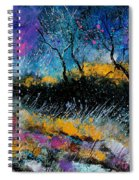 Magic Morning Light Spiral Notebook