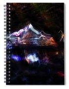 Magic Mountain Lake Spiral Notebook