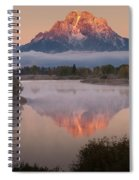 Magic Of Dawn At Oxbow  Bend Spiral Notebook