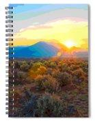 Magic Over Taos Spiral Notebook