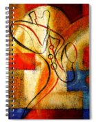 Magic Saxophone Spiral Notebook